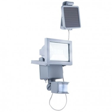 solarlampe f r den au enbereich mit bewegungsmelder lampen m bel au enleuchten strahler. Black Bedroom Furniture Sets. Home Design Ideas