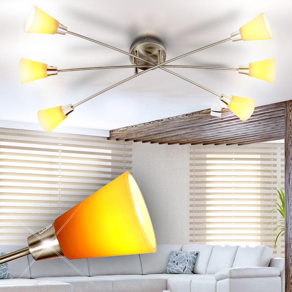 decken leuchte wohnzimmer lampe strahler spot beleuchtung. Black Bedroom Furniture Sets. Home Design Ideas