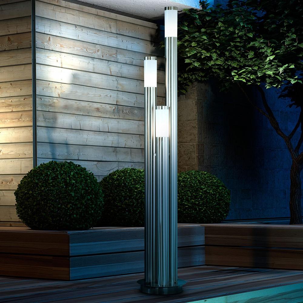 au enlampe gartenleuchte ip44 au enbeleuchtung terrassen. Black Bedroom Furniture Sets. Home Design Ideas