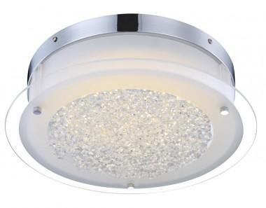 elegante led deckenleuchte mit klaren kristallen lampen m bel innenleuchten deckenleuchten. Black Bedroom Furniture Sets. Home Design Ideas