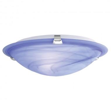 decken lampe licht leuchte wohnzimmer diele treppenhaus glas blau wei eglo 22349 samoa lampen. Black Bedroom Furniture Sets. Home Design Ideas