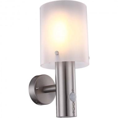 modische 11w led au en wand outdoor lampe edelstahl ip44. Black Bedroom Furniture Sets. Home Design Ideas
