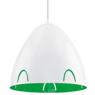 h nge leuchte wei decken schreibtisch b ro lampe metall gr n l nglich eglo 92732 lampen m bel. Black Bedroom Furniture Sets. Home Design Ideas