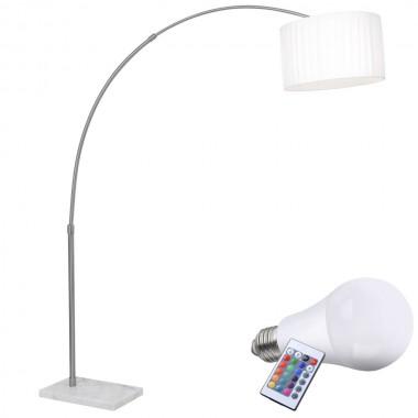 led stehleuchte mit farbwechselfunktion lampen m bel innenleuchten stehleuchten. Black Bedroom Furniture Sets. Home Design Ideas