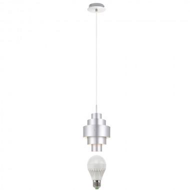 5 watt led pendel leuchte alu wohnzimmer lampe l nglich wohnraum eek a beleuchtung lampen. Black Bedroom Furniture Sets. Home Design Ideas