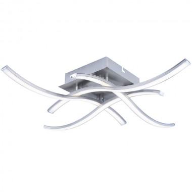 Deckenleuchte mit SMD LED Leuchtmittel in Wellen Form Lampen & Möbel ...
