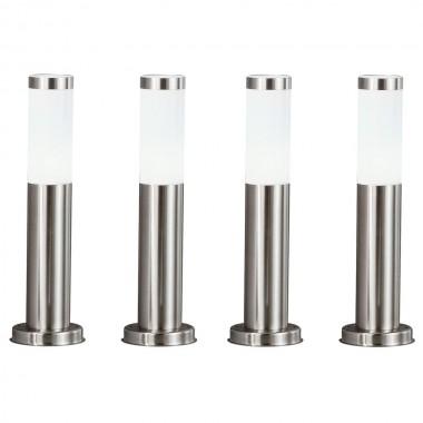 vier elegante led leuchten f r den au enbereich lampen m bel au enleuchten stehleuchten. Black Bedroom Furniture Sets. Home Design Ideas