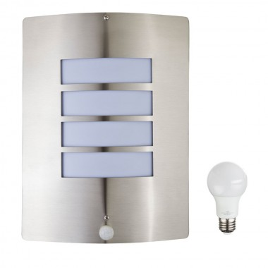 led wandleuchte mit bewegungsmelder f r den au enbereich lampen m bel au enleuchten wandleuchten. Black Bedroom Furniture Sets. Home Design Ideas