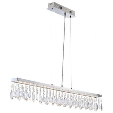 25w led h ngeleuchte esszimmer lampe deckenleuchte pendelleuchte globo 67059 5hs lampen m bel. Black Bedroom Furniture Sets. Home Design Ideas