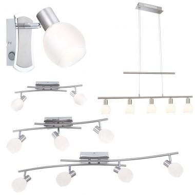 led wand decken lampe strahler spots wohnzimmer. Black Bedroom Furniture Sets. Home Design Ideas