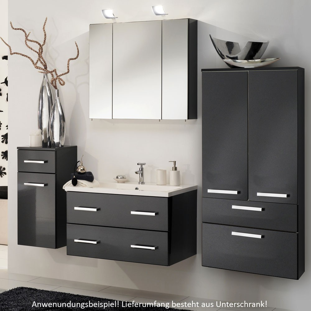 badezimmer unterschrank anthrazit inspiration design raum und m bel f r ihre. Black Bedroom Furniture Sets. Home Design Ideas
